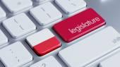 Poland Legislature Concep — Stock Photo