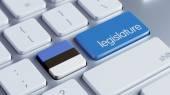 Estonia Legislature Concep — Stock Photo
