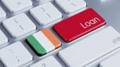 Ireland Loan Concept — Stock fotografie