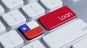Chile Loan Concept — Stock fotografie