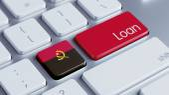 Angola Loan Concept — Stock fotografie
