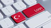Turkey Loan Concept — Stock fotografie