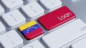 Venezuela Loan Concept — Stock fotografie