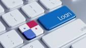 Panama Loan Concept — Stock fotografie