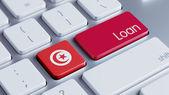 Tunisia Loan Concept — Stock fotografie
