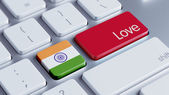 India Love Concept — Stock fotografie