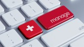 Switzerland Manage Concept — Stock Photo