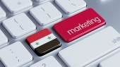 Syria Marketing Concept — Stockfoto