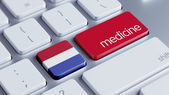 Netherlands Medicine Concept — Stock Photo