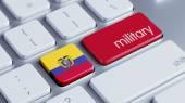 Ecuador Keyboard Concept — Стоковое фото