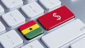 Ghana Money Concept — Stock Photo