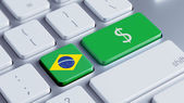 Brazil Money Concept — Foto de Stock