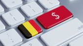 Belgium Money Concept — Foto de Stock