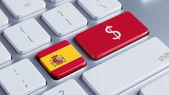 Spain Money Concept — Stock Photo