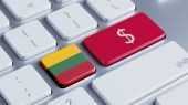 Lithuania Money Concept — Foto de Stock