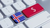 Iceland Money Concept — Foto de Stock