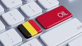 Belgium Oil Concept — Stock Photo
