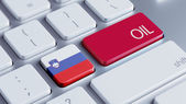 Slovenia Oil Concept — Stock Photo