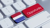 Netherlands Opportunity Concep — Stock Photo