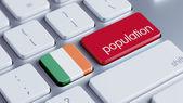 Ireland Population Concep — 图库照片