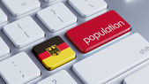 Germany Population Concep — Stock Photo