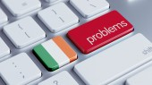 Ireland Problems Concept — Stock Photo