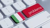 Italy Problems Concept — ストック写真