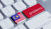 Malaysia Problems Concept — Stock Photo