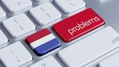 Netherlands Problems Concept — ストック写真
