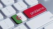 Algeria Problems Concept — ストック写真