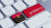 Angola Problems Concept — Stockfoto