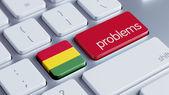 Bolivia Problems Concept — Stock Photo