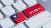 Taiwan Problems Concept — ストック写真