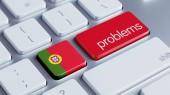 Portugal Problems Concept — ストック写真