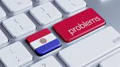 Paraguay Problems Concept — Stock Photo