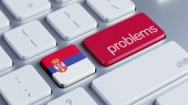 Serbia Problems Concept — ストック写真