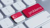 Singapore Problems Concept — Stockfoto