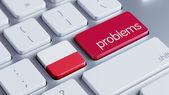 Poland Problems Concept — Stock Photo
