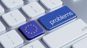 European Union Problems Concept — Stock Photo