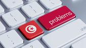 Tunisia Problems Concept — Stock Photo