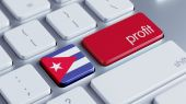 Cuba Profit Concep — Stock Photo