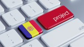 Andorra Project Concep — Stock Photo