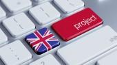 United Kingdom Project Concep — Stock Photo