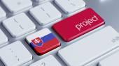 Slovakia Project Concep — Stock Photo
