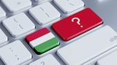 Hungary Question Mark Concept — Stock Photo
