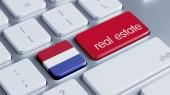 Netherlands  Real Estate Concept — 图库照片