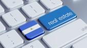 Nicaragua  Real Estate Concept — 图库照片