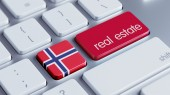 Norway  Real Estate Concept — 图库照片