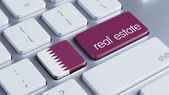 Qatar  Real Estate Concept — Φωτογραφία Αρχείου