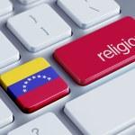 Постер, плакат: Venezuela Religion Concept